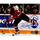 New Jersey Devils ZACH PARISE SIGNED 8x10 PHOTO + COA