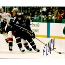 COLUMBUS BLUE JACKETS RICK NASH SIGNED 8x10 PHOTO + COA