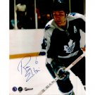 TORONTO MAPLE LEAFS RON ELLIS SIGNED 8x10 PHOTO + COA
