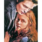 TWILIGHT ROBERT PATTINSON AND KRISTEN STEWART SIGNED 8x10 PHOTO + COA