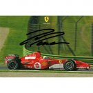 FELIPE MASSA SIGNED 4X6 PHOTO + COA