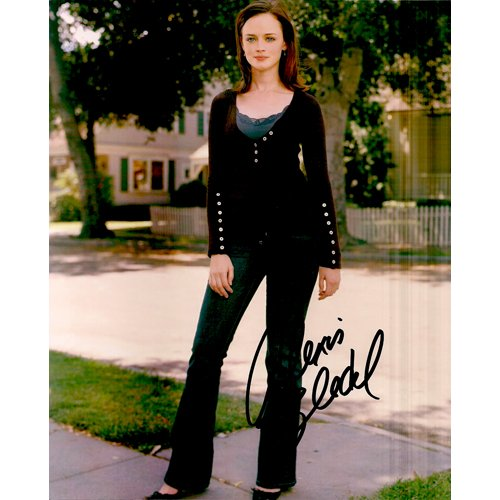 GILMORE GIRLS ALEXIS BLEDEL SIGNED 8x10 PHOTO + COA