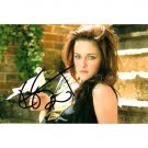 TWILIGHT KRISTEN STEWART SIGNED 4x6 PHOTO + COA