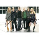 GOSSIP GIRLS 3 SIGNATURES SIGNED 4X6 PHOTO + COA