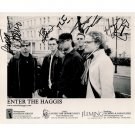 ENTER THE HAGGIS SIGNED 8x10 PHOTO + COA