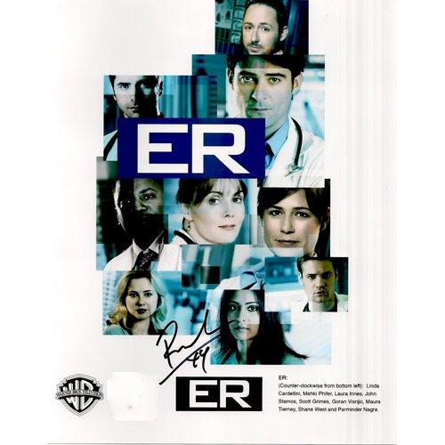 ER PARMINDER NAGRA SIGNED 8x10 PHOTO + COA