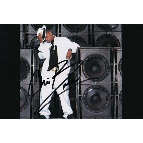 MUSIC ARTIST CHRIS BROWN SIGNED 4X6 PHOTO + COA