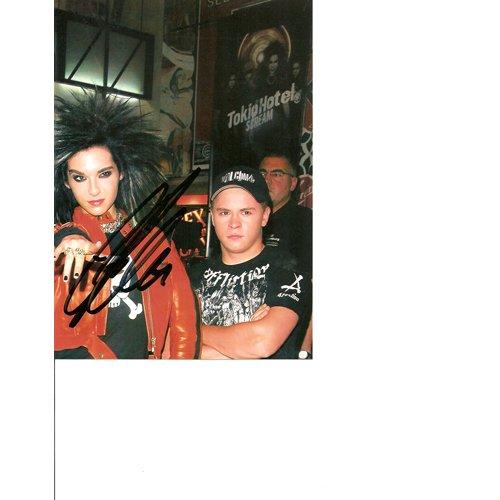 """TOKIO HOTEL"" BILL KAULITZ SIGNED 5X7 PHOTO + COA"