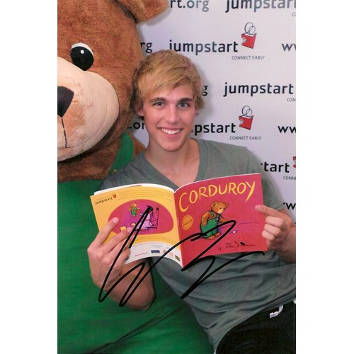 """HANNAH MONTANA"" CODY LINLEY SIGNED 4X6 PHOTO + COA"