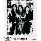 AEROSMITH SIGNED 8x10 PHOTO + COA