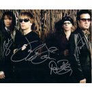 BON JOVI SIGNED 8x10 PHOTO + COA