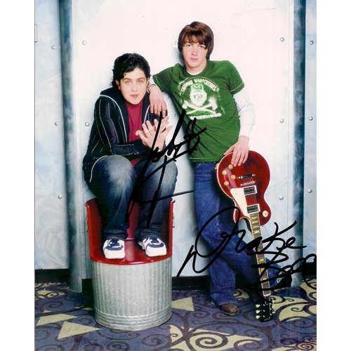 DRAKE BELL & JOSH PECK SIGNED 8x10 PHOTO + COA