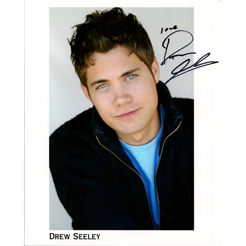 DREW SEELEY SIGNED 8x10 PHOTO + COA