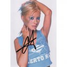 CHRISTINA AGUILERA SIGNED 4x6 PHOTO + COA