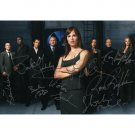 ALIAS CAST 8 SIGNED 5X7 PHOTO + COA