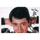 Ferris Beuller Film Actor MATTHEW BRODERICK SIGNED 4x6 PHOTO + COA