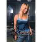 Tv Actress KALEY CUOCO SIGNED 4X6 PHOTO + COA Charmed
