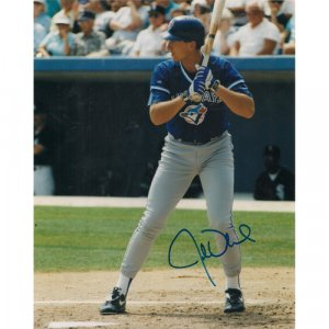 JOHN OLERUD SIGNED 8x10 PHOTO