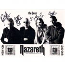 NAZARETH SIGNED 8x12 PHOTO