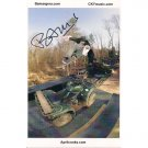 BAM MARGERA SIGNED 6x9 PHOTO + COA