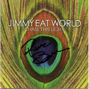 JIMMY EAT WORLD SIGNED CD