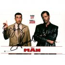 EUGENE LEVY + SAMUEL L. JACKSON SIGNED 4x6 PHOTO + COA