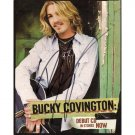 BUCKY COVINGTON SIGNED 8x10 PHOTO