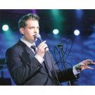 MICHAEL BUBLE SIGNED 8x10 PHOTO CALL ME IRRESPONSIBLE