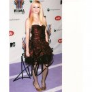 AVRIL LAVIGNE SIGNED 4x6 PHOTO + COA