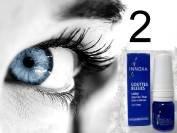 2 Bottles Innoxa French Blue Eye Drops Free Shipping