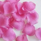 500 Fuchsia Silk Rose Petals Wedding Flower Favors, Brand New