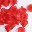 200 Red Silk Rose Petals Wedding Flower Favors, Brand New