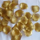 200 Gold Silk Rose Petals Wedding Flower Favors, Brand New