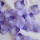 500 Purple Silk Rose Petals Wedding Flower Favors, Brand New