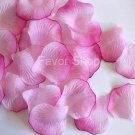 200 Pink / Fuchsia Silk Rose Petals Wedding Flower Favors, Brand New