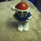 Christmas Blue Mini Santa Hat Container