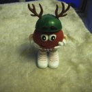 Christmas Red Mini Reindeer Green Hat Container