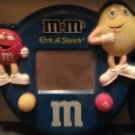 M&M's Blue Etch a Sketch
