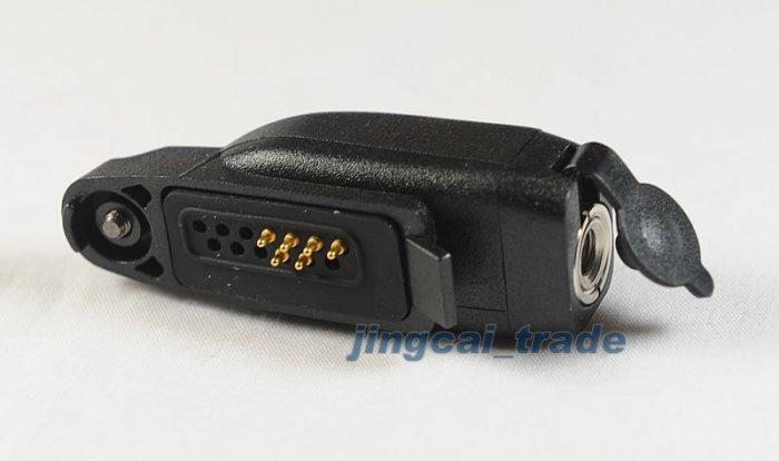 Audio adapter for Motorola radio GP328plus GP344 VISAR