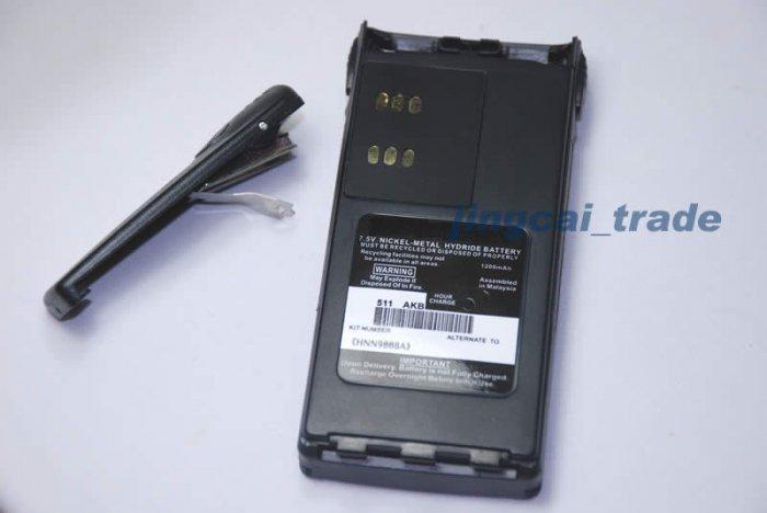 Battery for Motorola HT750 HT1250 PRO5150 GP328 GP340