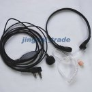 Throat Vibration Mic Acoustic Tube for KENWOOD PUXING
