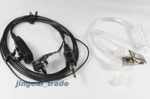 Covert Acoustic Tube Earpiece for YAESU VX-7R VX-6R