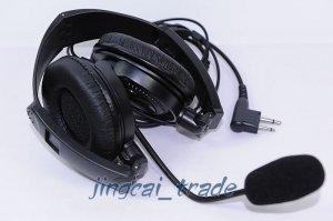 Overhead Headset with boom mic for Motorola GP300 CP200