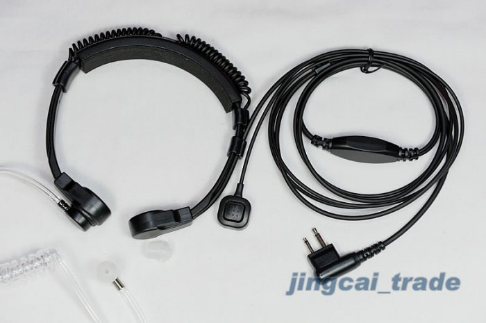 Heavy Duty Throat Vibration Mic for MOTOROLA Radio