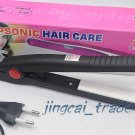 Compact Straightener Mini Hair Iron Portable Black New!