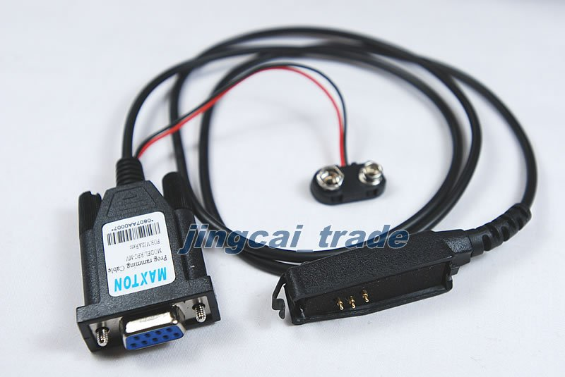 RIB-Less Programming Cable for Motorola Visar Radio