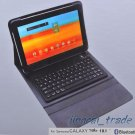 Black Leather Case w/ Bluetooth Keyboard for Samsung Galaxy Tab 10.1 P7510 P7500