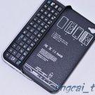 Black Sliding Wireless Bluetooth Keyboard + Hardshell Case for iPhone 4 & 4S
