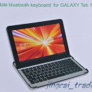 Aluminum Case Cover w/ Bluetooth Keyboard For Samsung Galaxy Tab 10.1 P7510 P7500