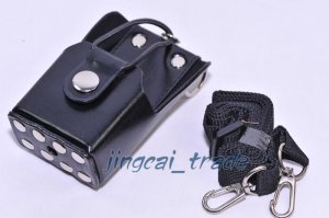 Hard Leather Case For Motorola GP344 GP388 GP328Plus Radio